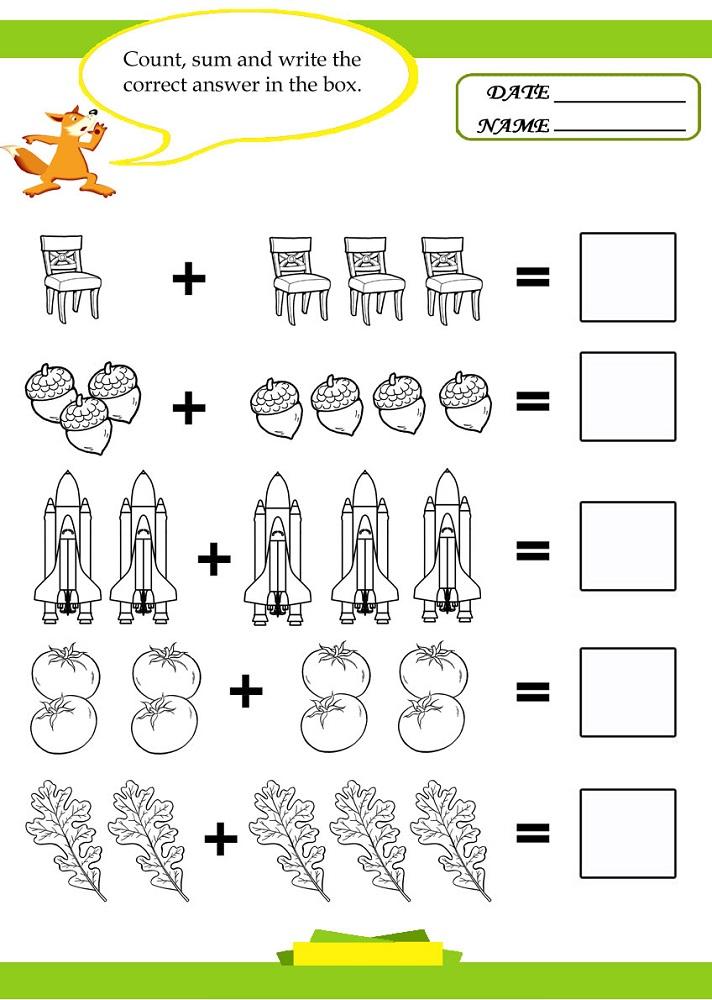 math is fun worksheet elementary