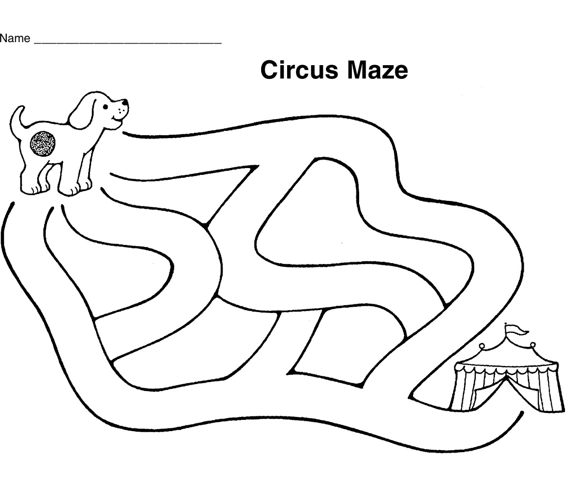 simple mazes for kids large