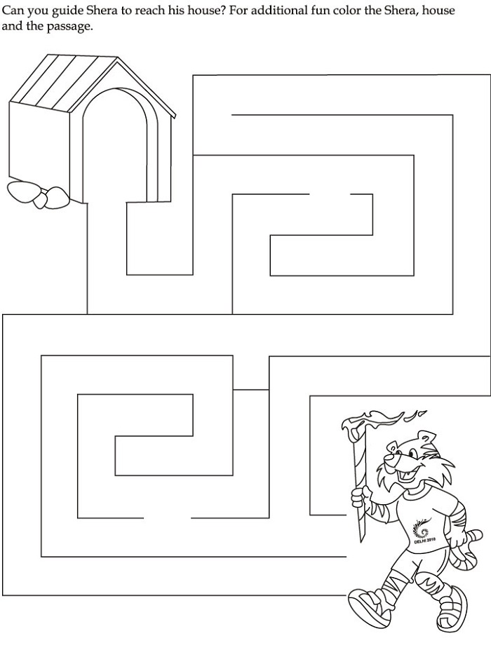 Free Printable Activities Mazes