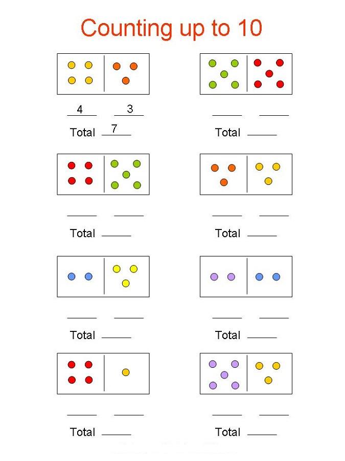 Kindergarten Worksheets Math