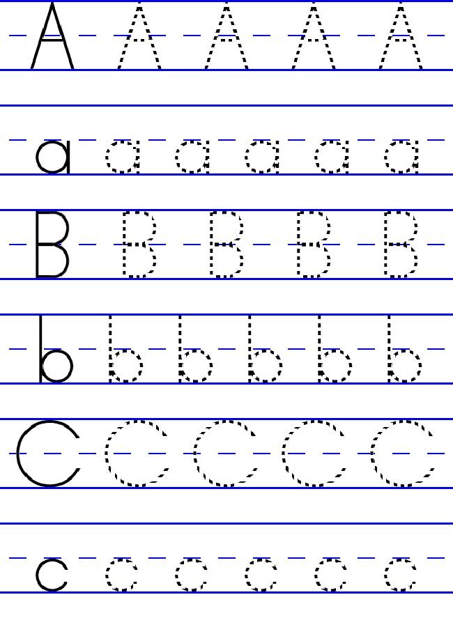 Pre-Kindergarten Worksheets