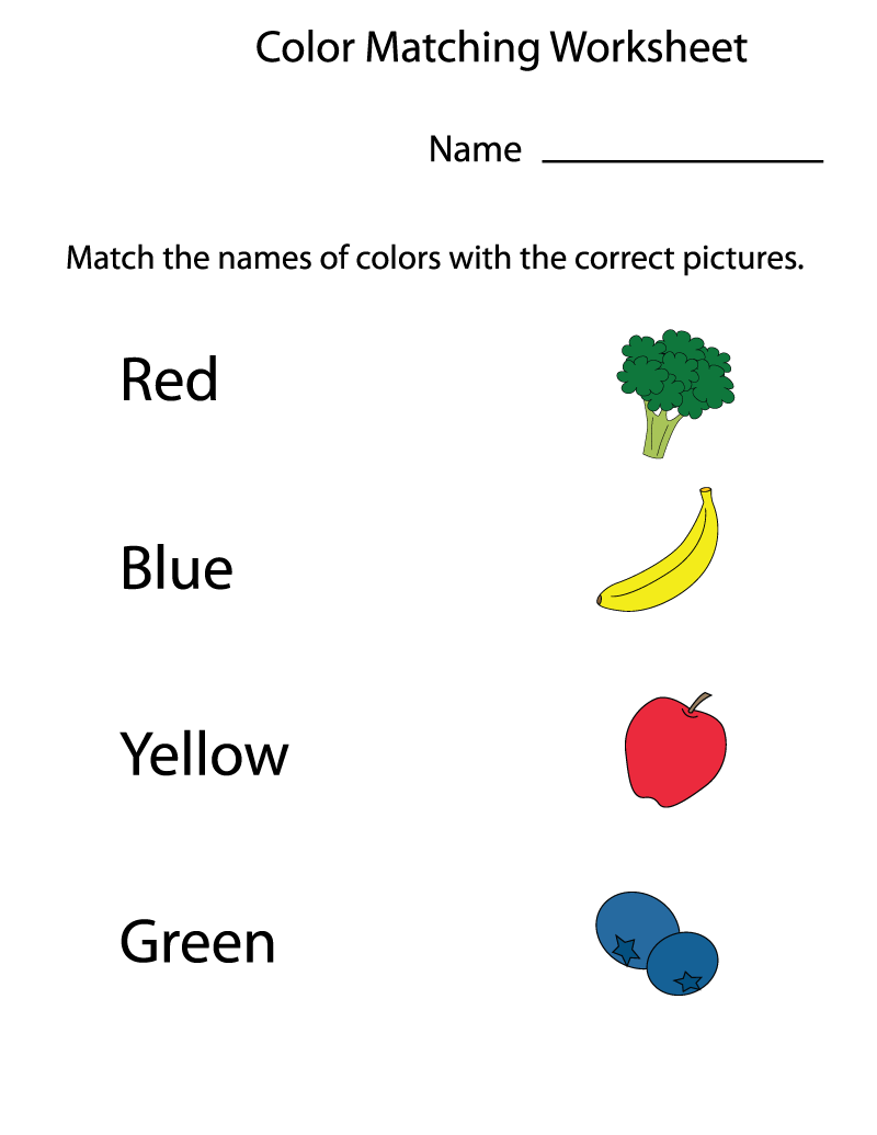 Pre School Worksheet for Kids | Educative Printable