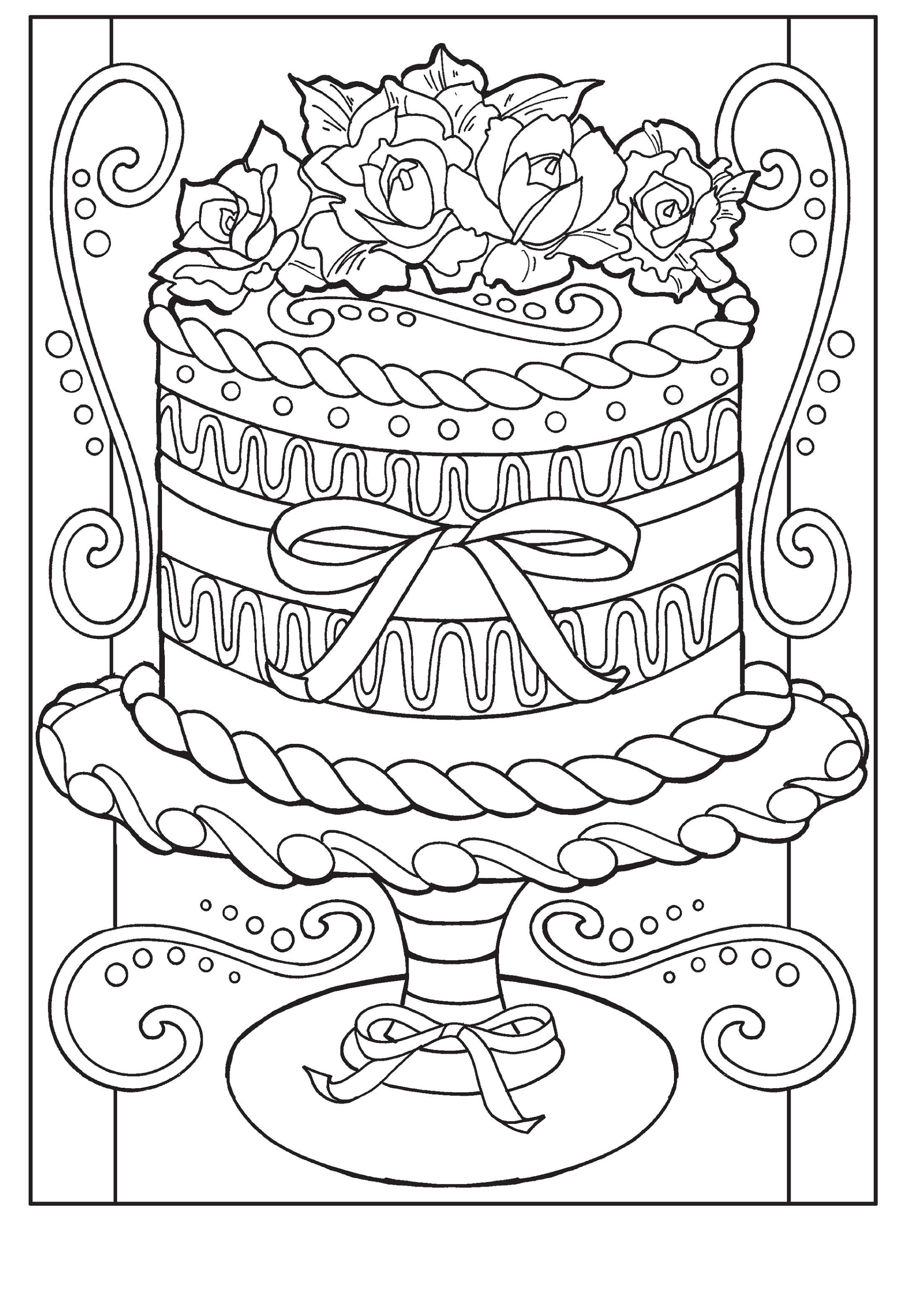 adult coloring books tart