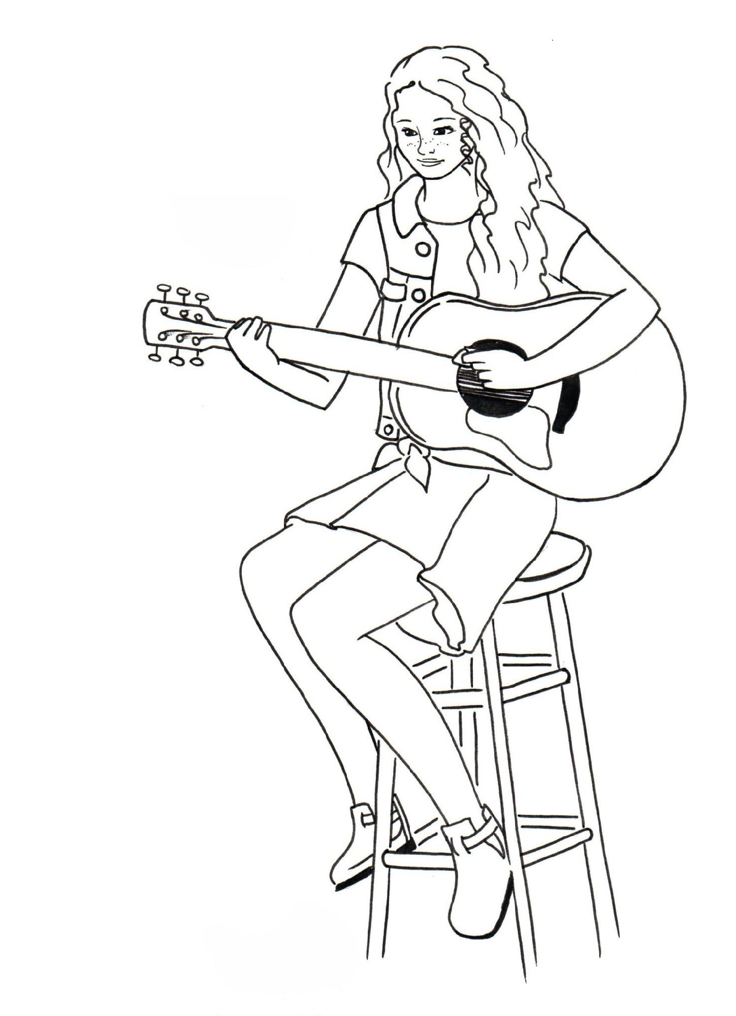 american girl doll coloring pages tenny
