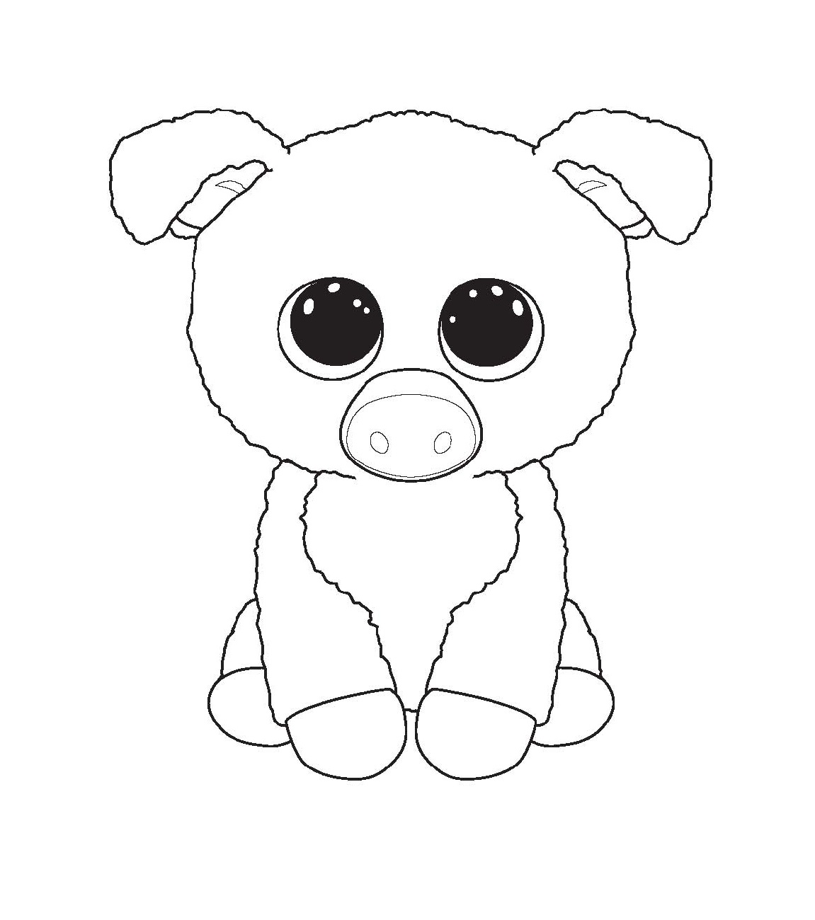 beanie boo coloring pages for educative printable