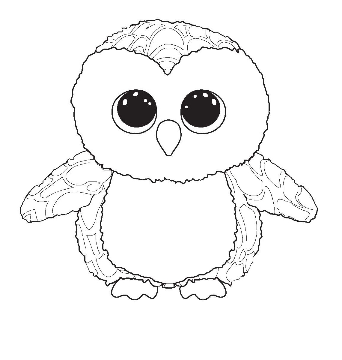 beanie boo coloring pages haunt