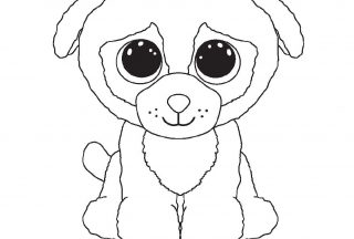 beanie boo coloring pages pugsly
