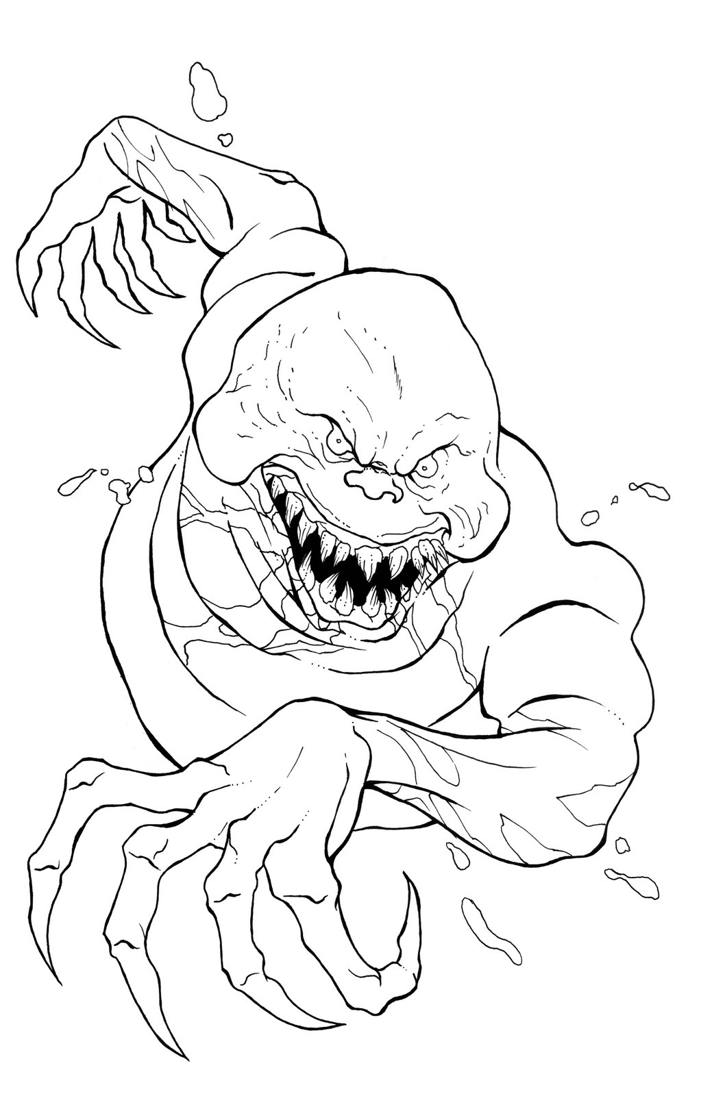 ghostbusters coloring pages ghost 3