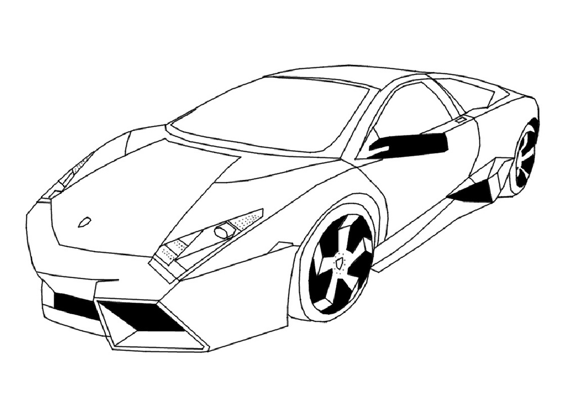 lamborghini coloring pages reventon