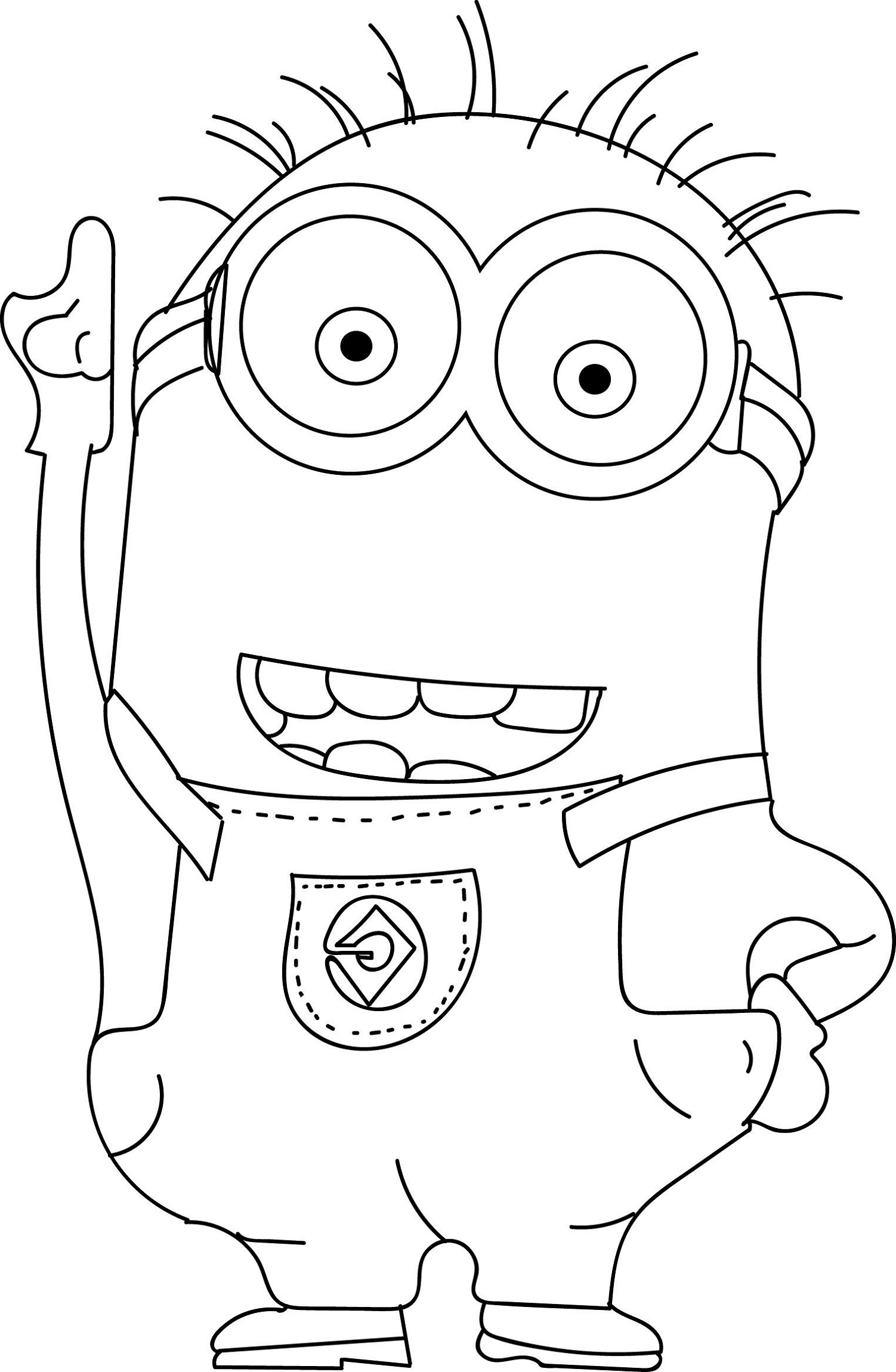 cool Minions Coloring Pages Check more at wecoloringpage Printable
