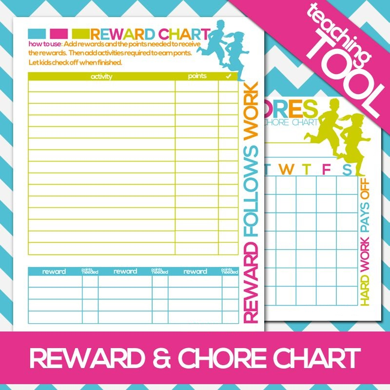 reward chart ideas for mum