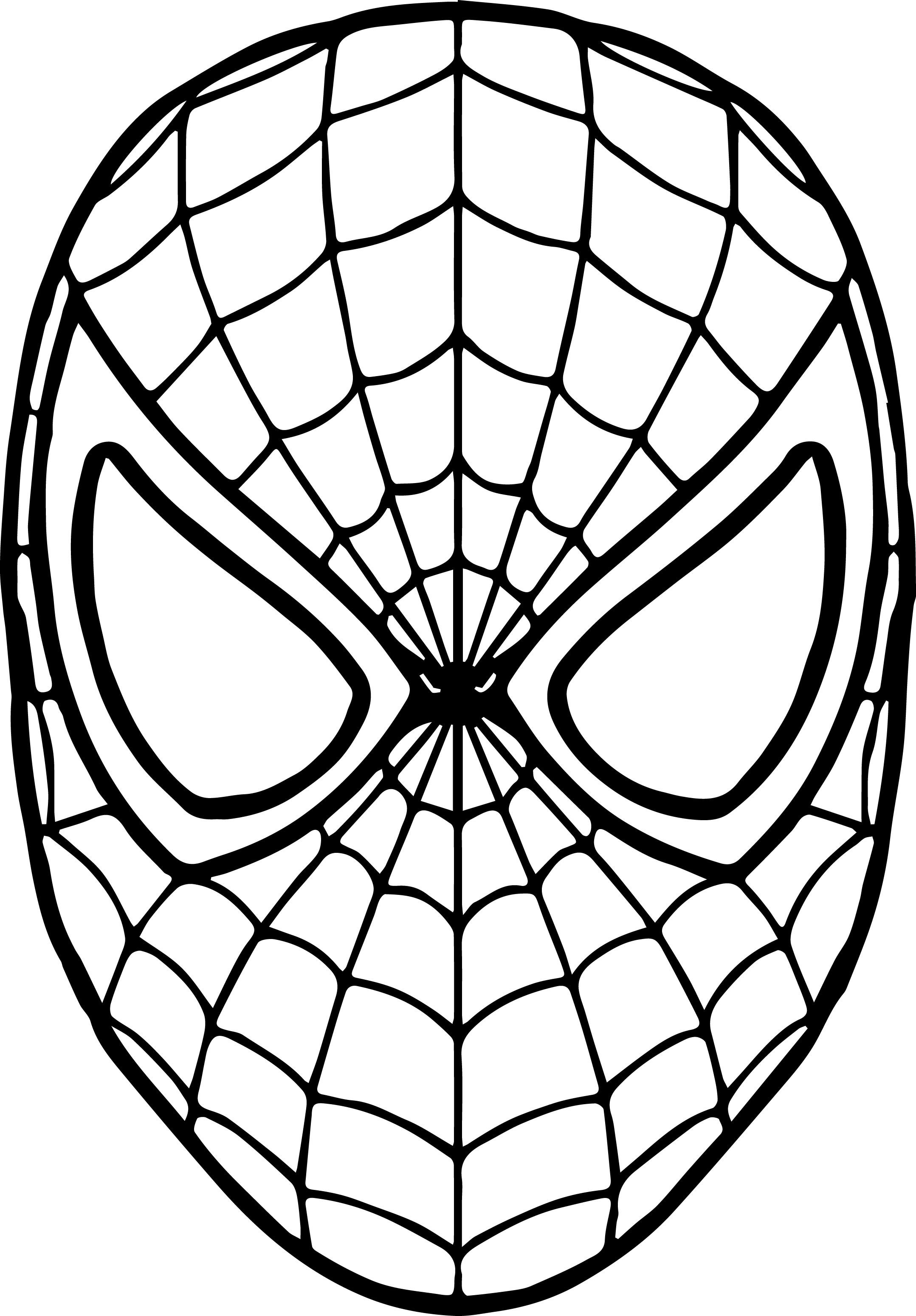 spiderman coloring pages spiderman logo