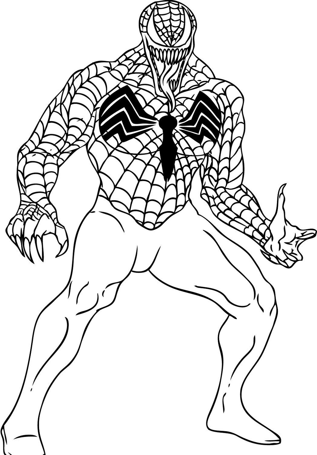 Spiderman Coloring Pages for Boys | Educative Printable