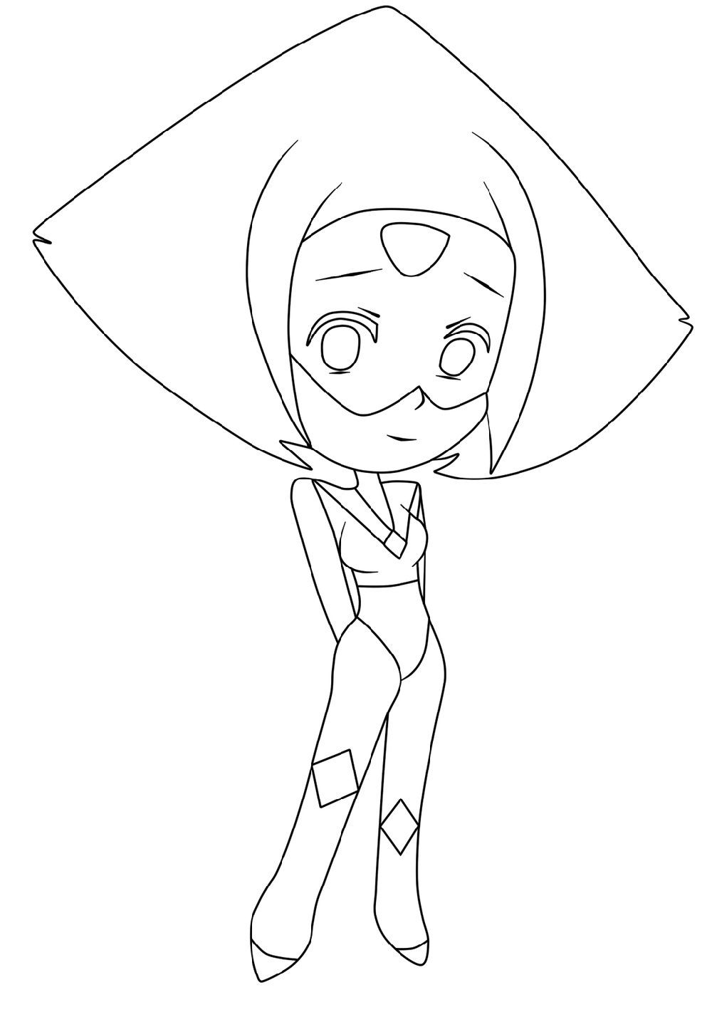 steven universe coloring pages peridot