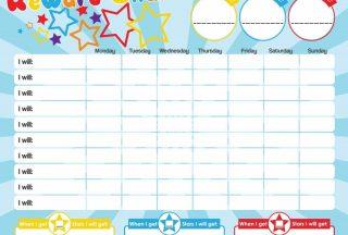 Sticker Reward Chart Printable