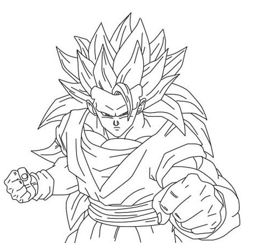 dragon ball z coloring pages dragonball 2