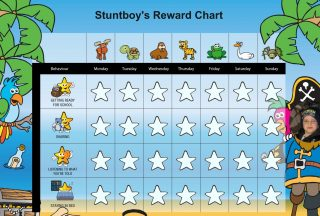 reward chart for 5 year old daily