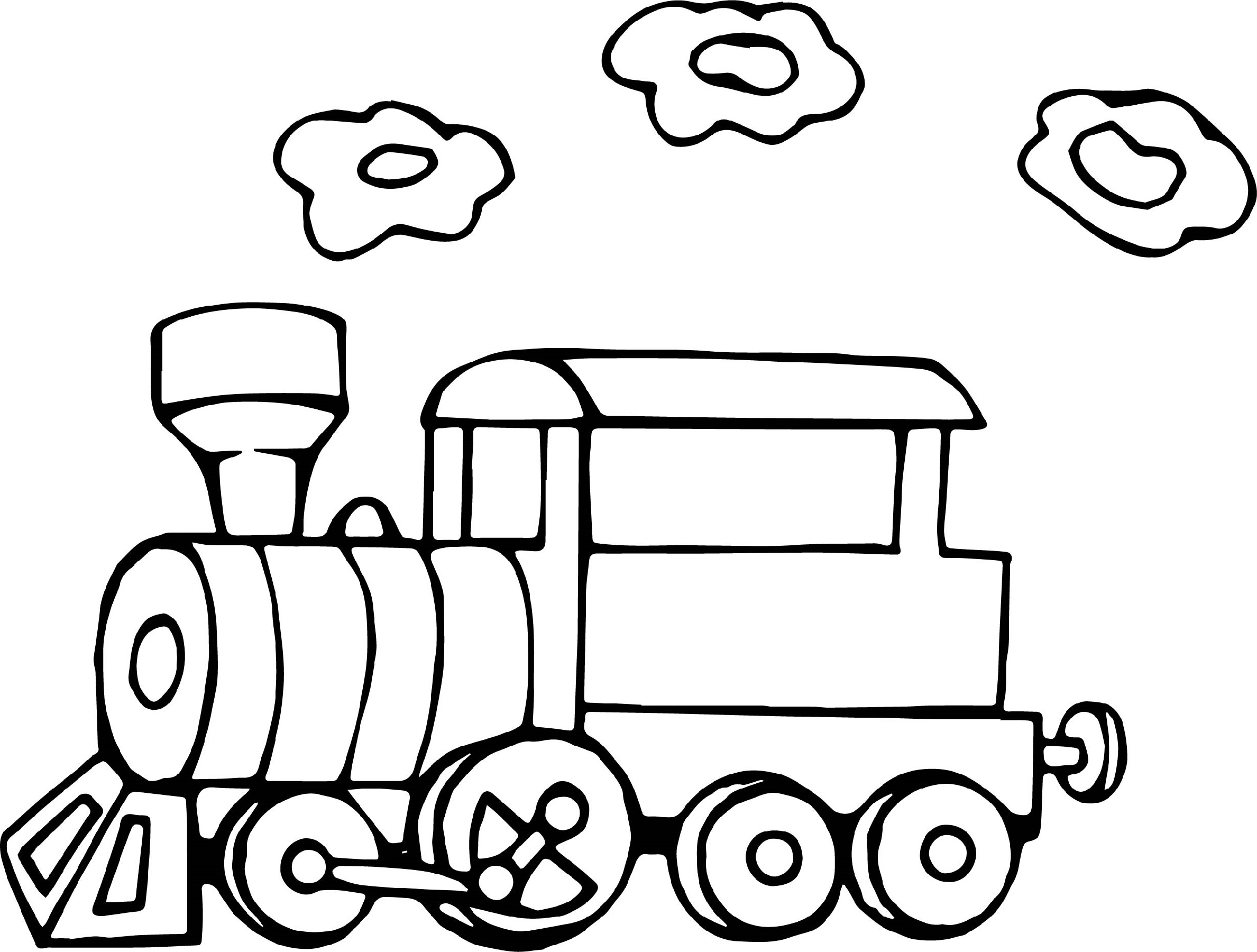 train coloring pages train 3