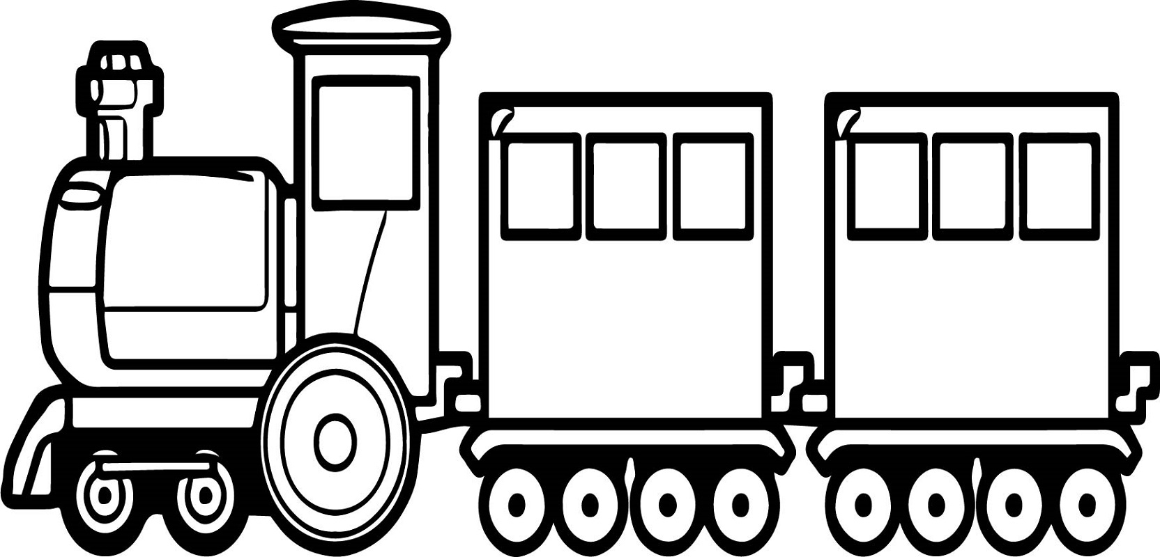 train coloring pages train 4