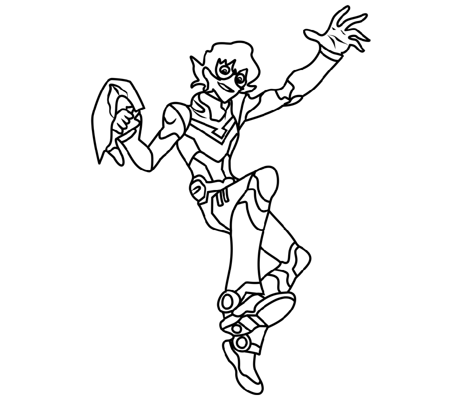 voltron coloring pages pidge