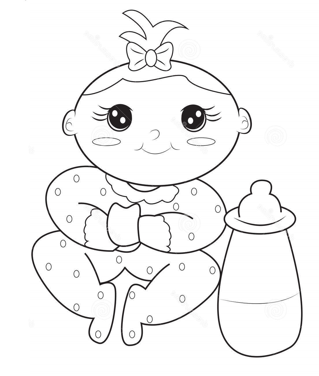 baby coloring pages 5