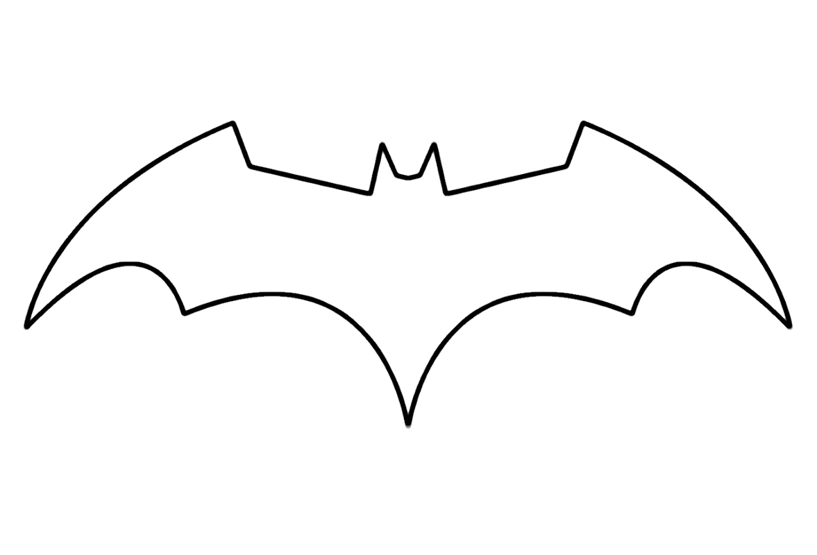 batman logo coloring pages logo 1