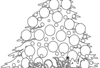 christmas lights coloring pages 5