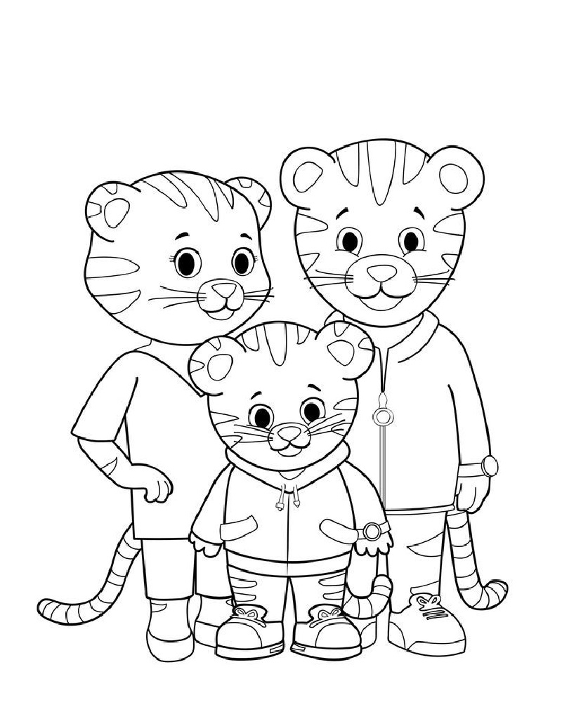 daniel tiger coloring pages 3