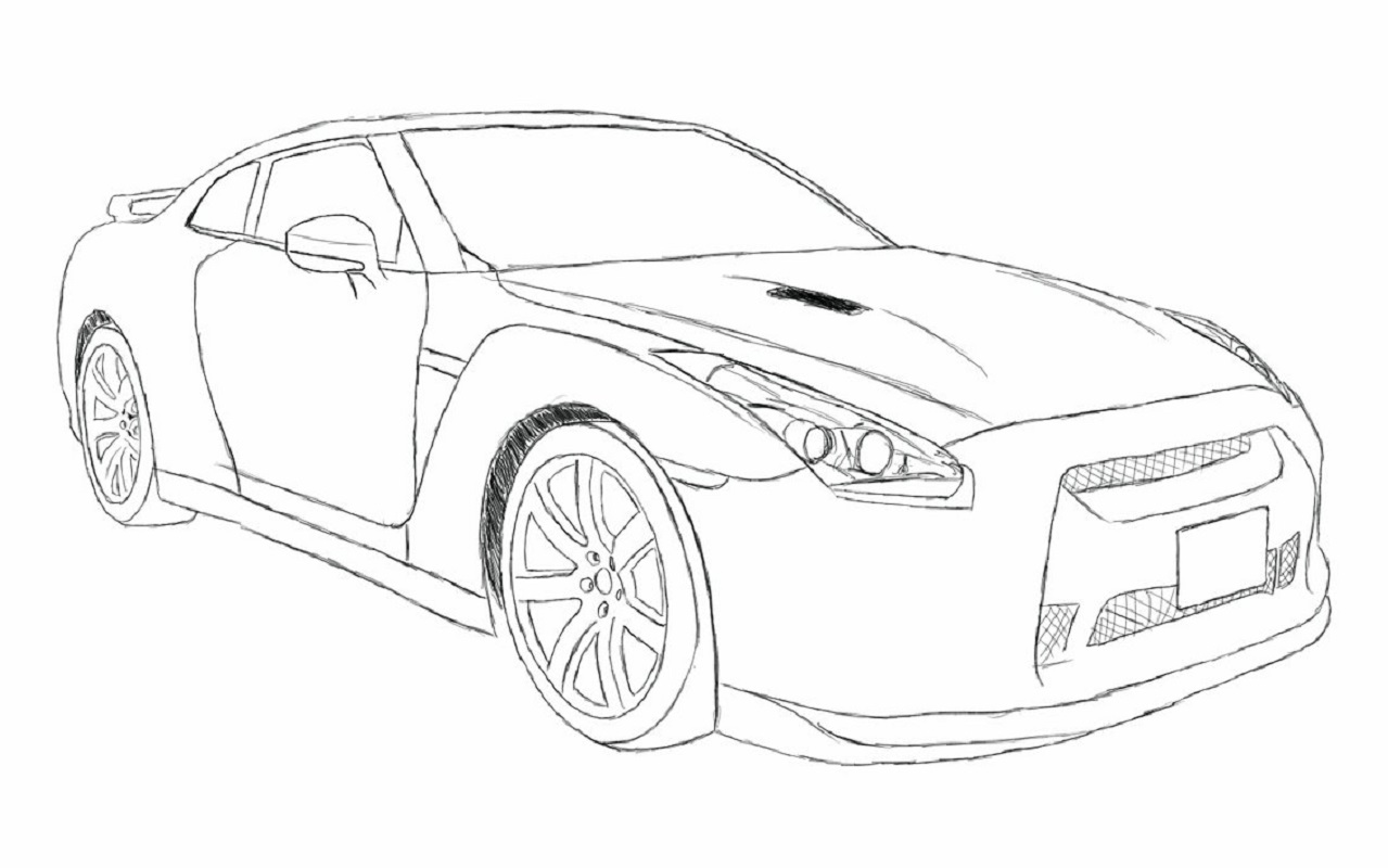 Fast and Furious Coloring Pages | Educative Printable