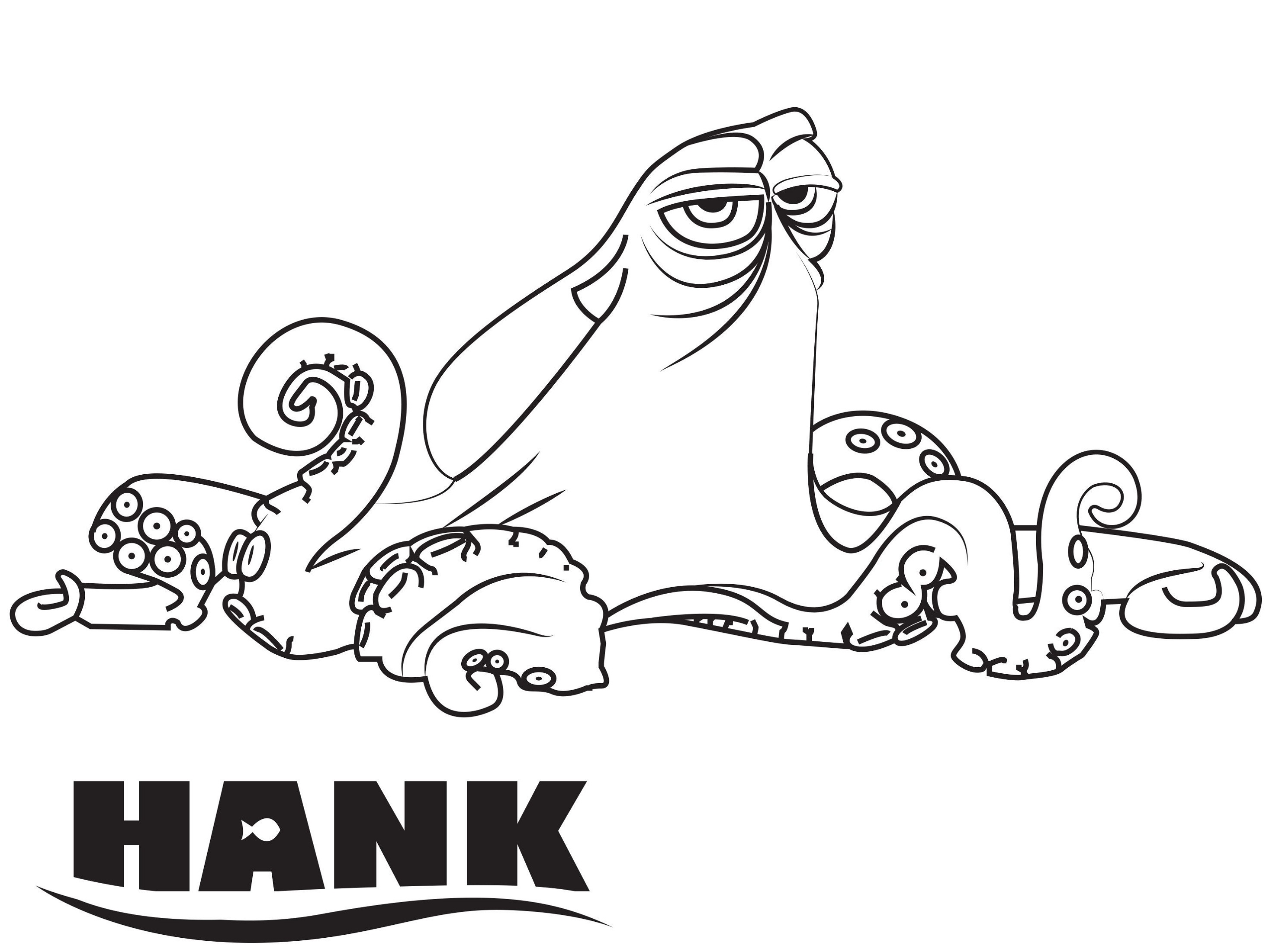 finding dory coloring pages hank