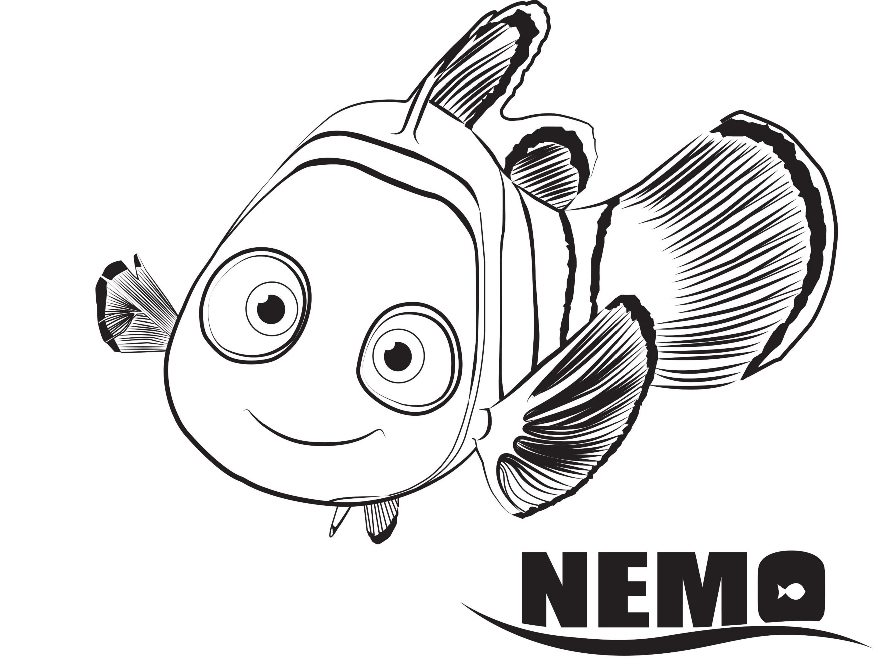 finding dory coloring pages nemo