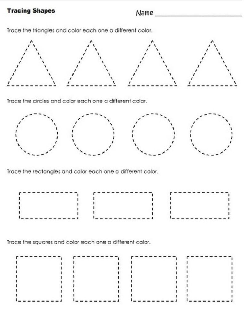 free worksheets to print circle coloring