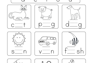 free worksheets to print phonics