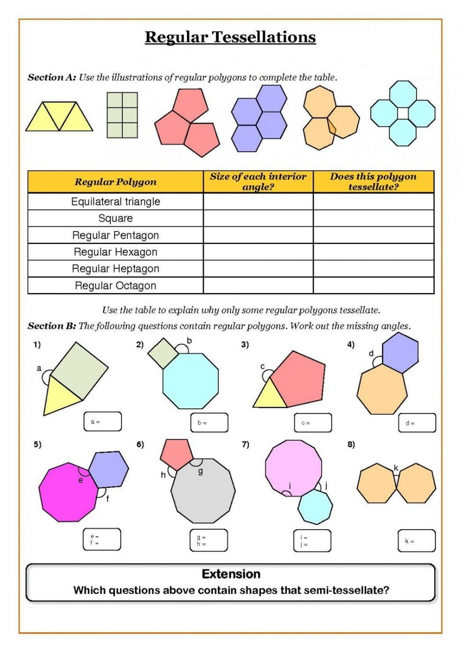 fun math worksheets 4
