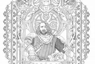 game of thrones coloring book 4