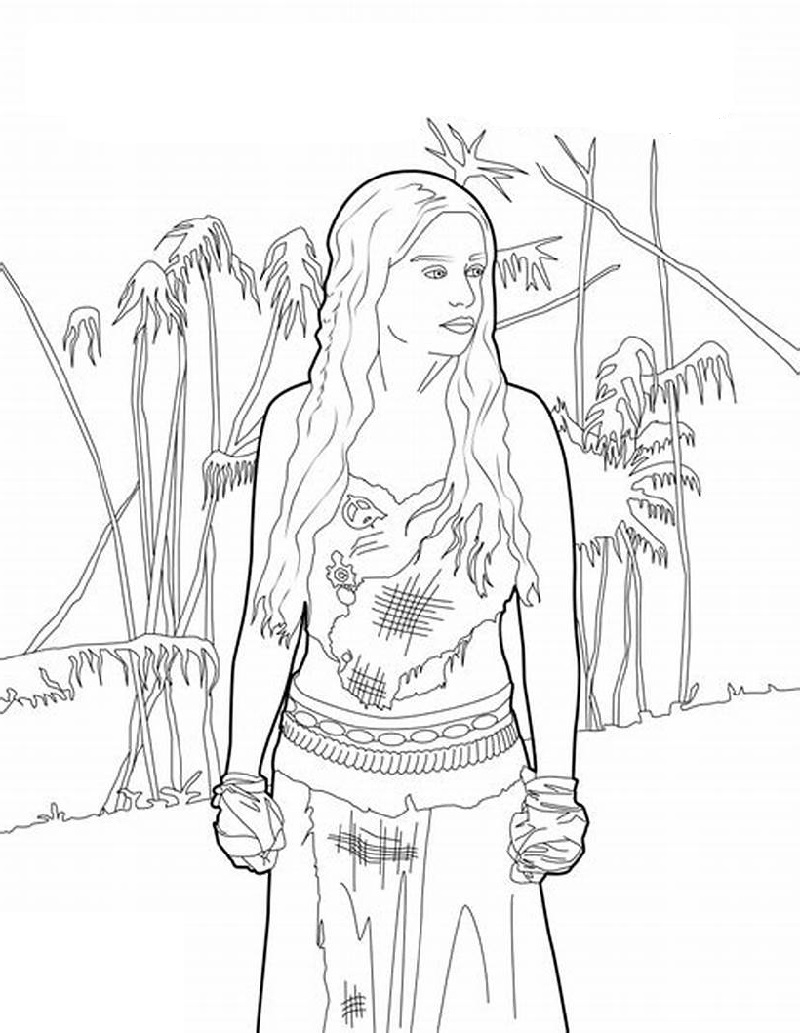 game of thrones coloring book 5
