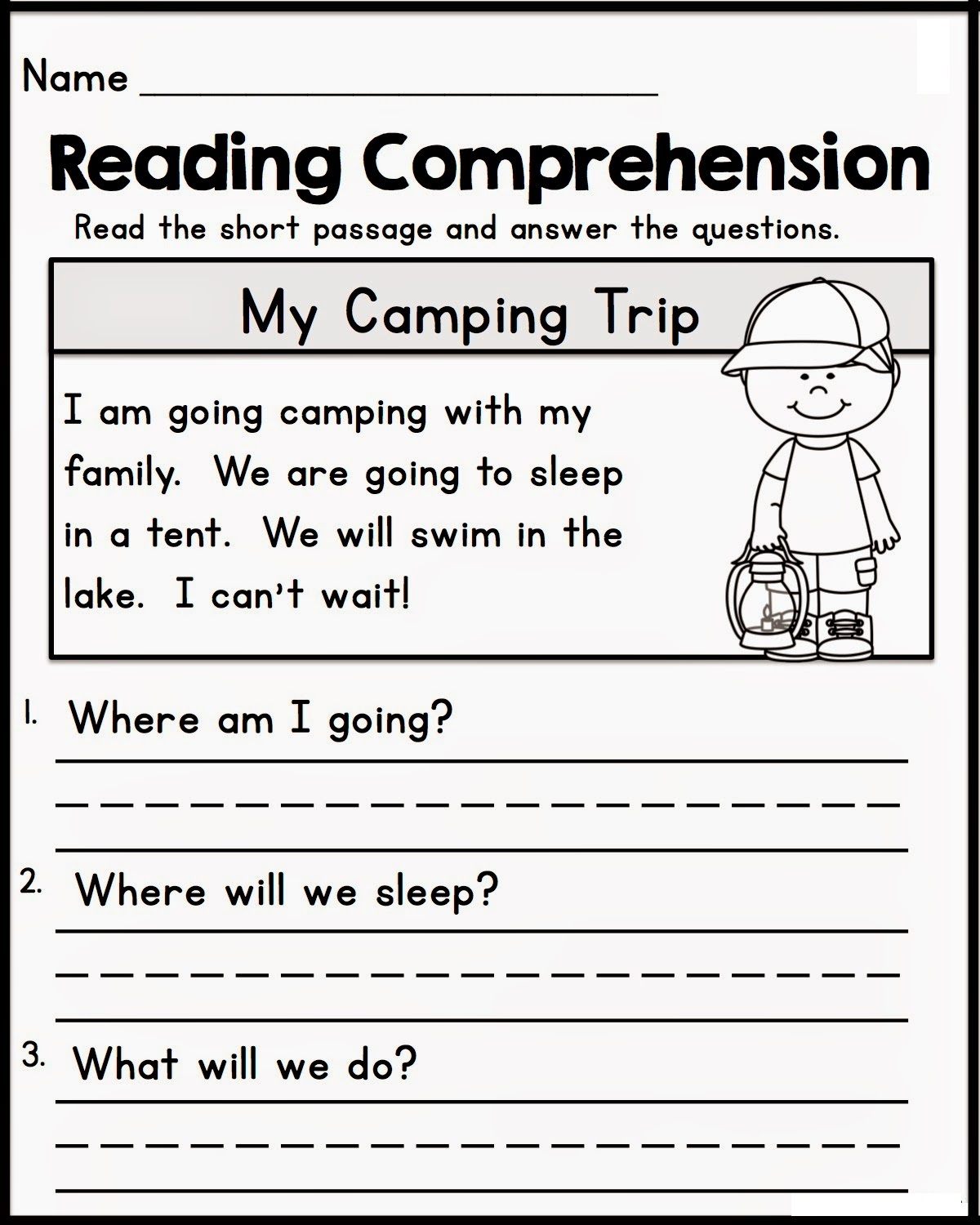 printable learning sheets three