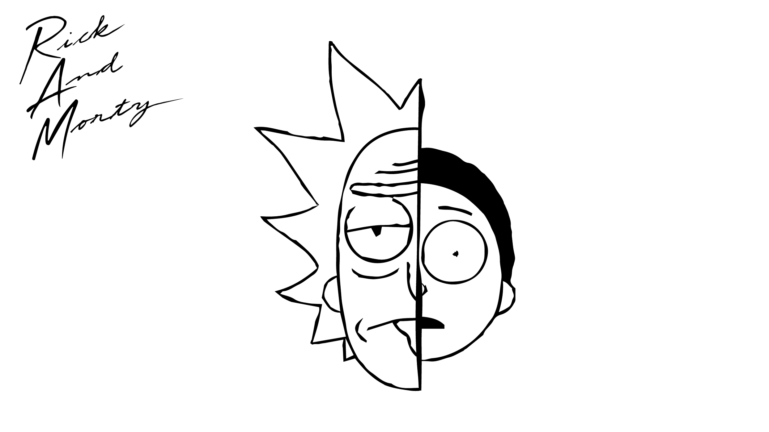 rick and morty coloring pages 5