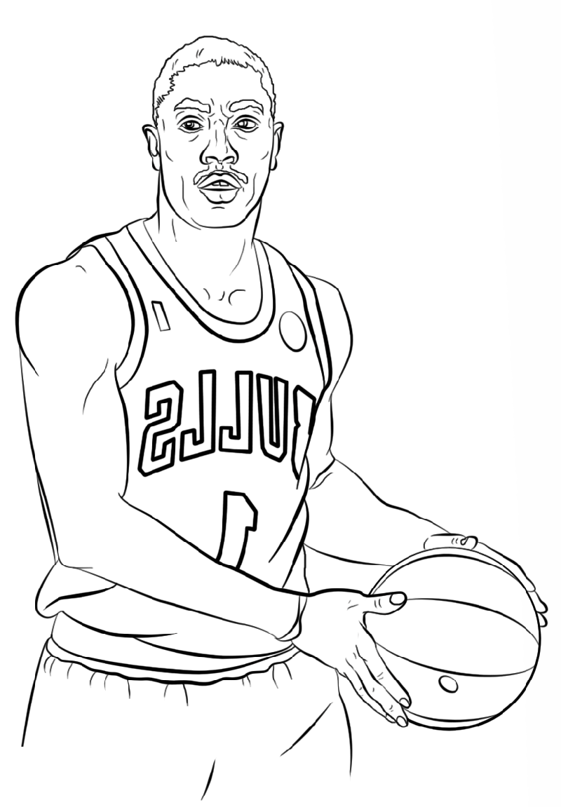 Stephen Curry Coloring Pages Basketball Educative Printable