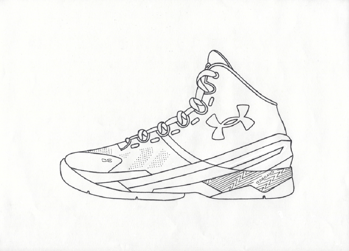 stephen curry coloring pages stephen curry shoes