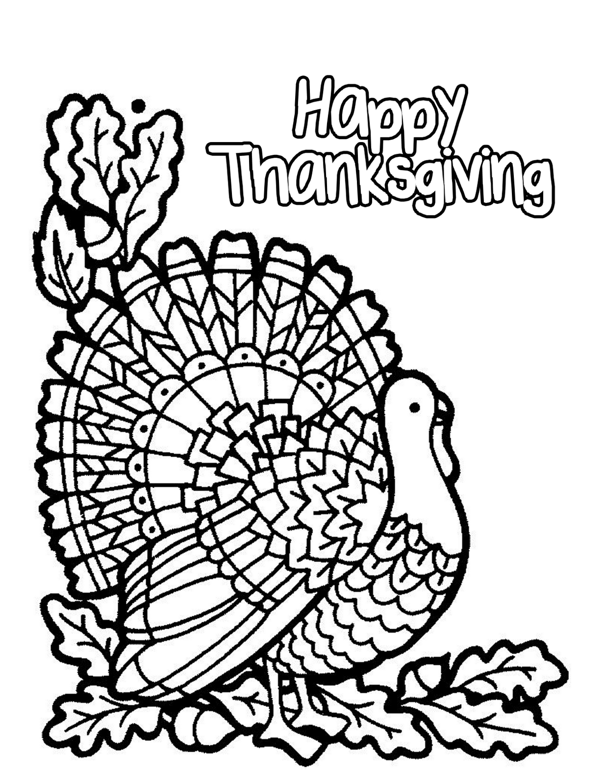 thanksgiving coloring sheets 5