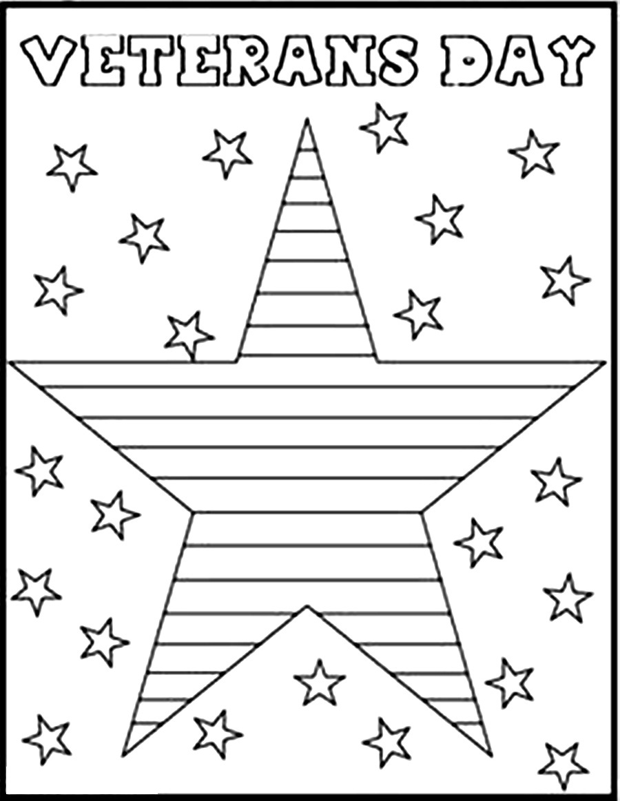 veterans day coloring pages 1