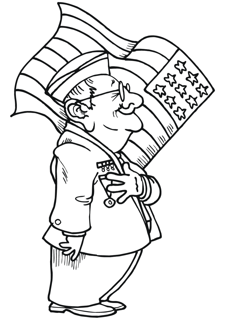 veterans day coloring pages 5