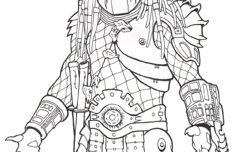 Predator Coloring Pages for Students