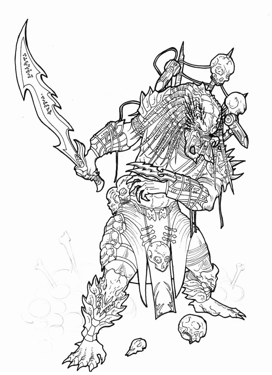 Predator Coloring Pages for Students   Educative Printable