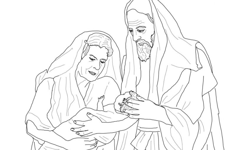 abraham and sarah coloring pages 1