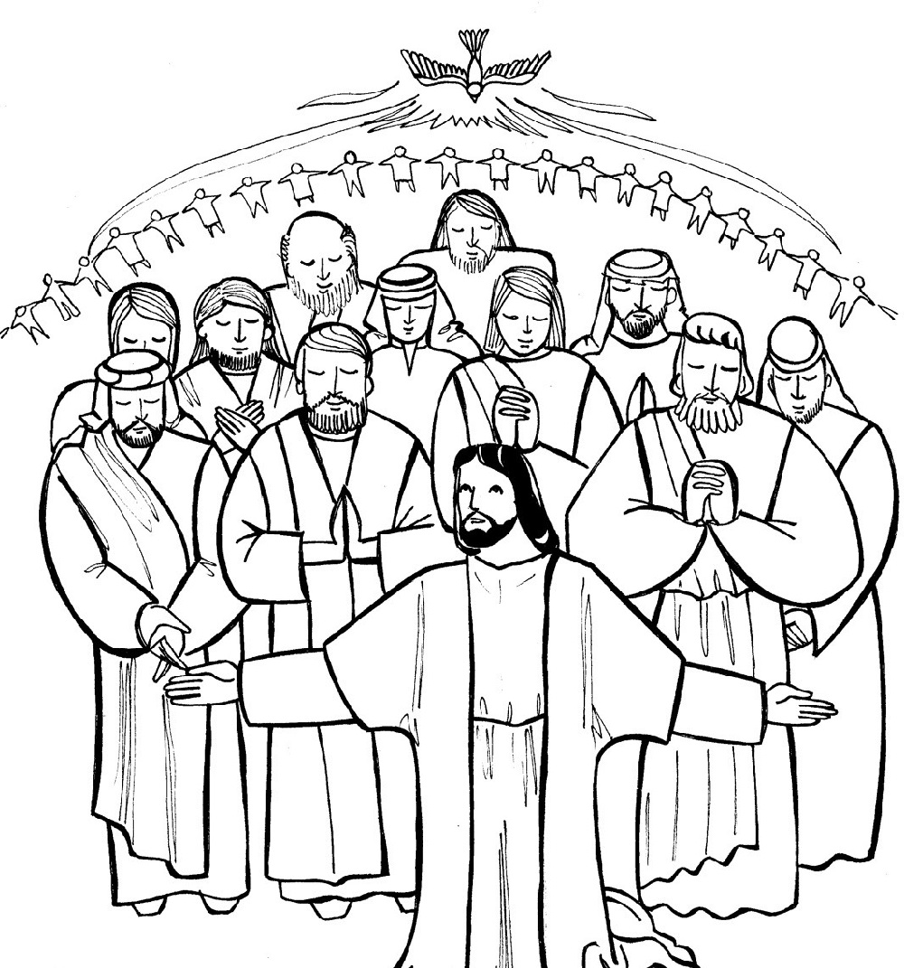 all saints day coloring pages 4