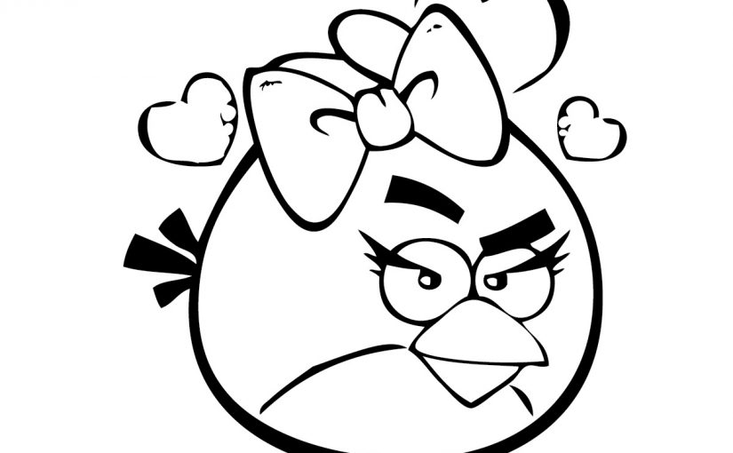 angry birds coloring pages 1