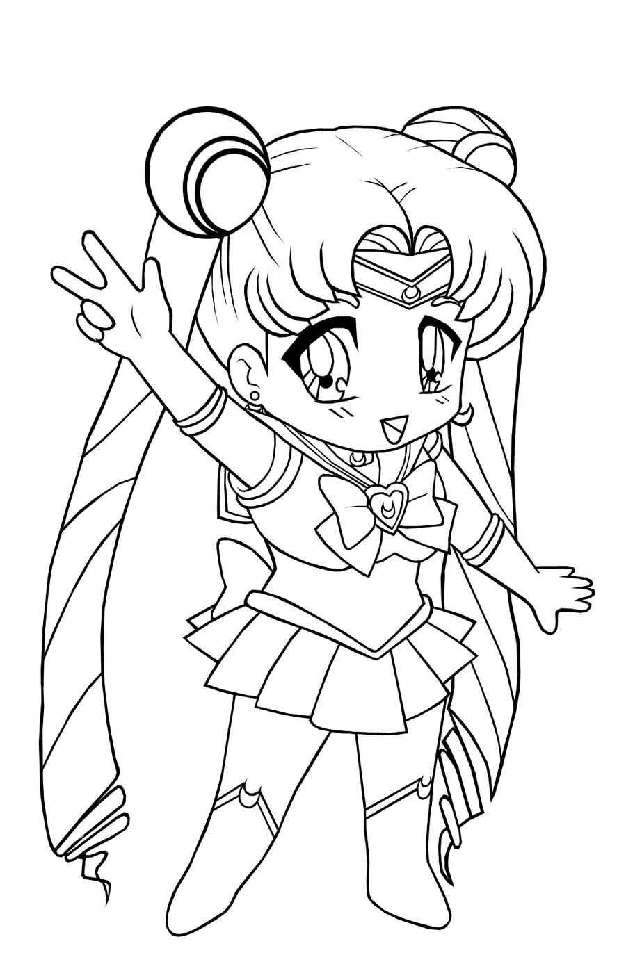 anime coloring pages printable 1