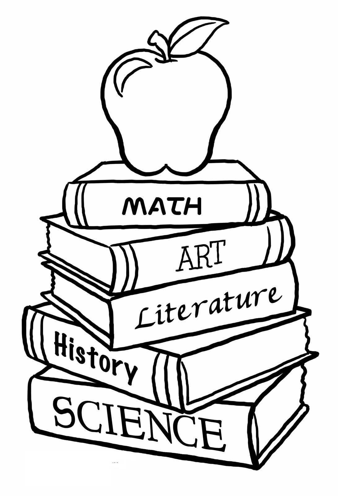 back to school coloring pages 2